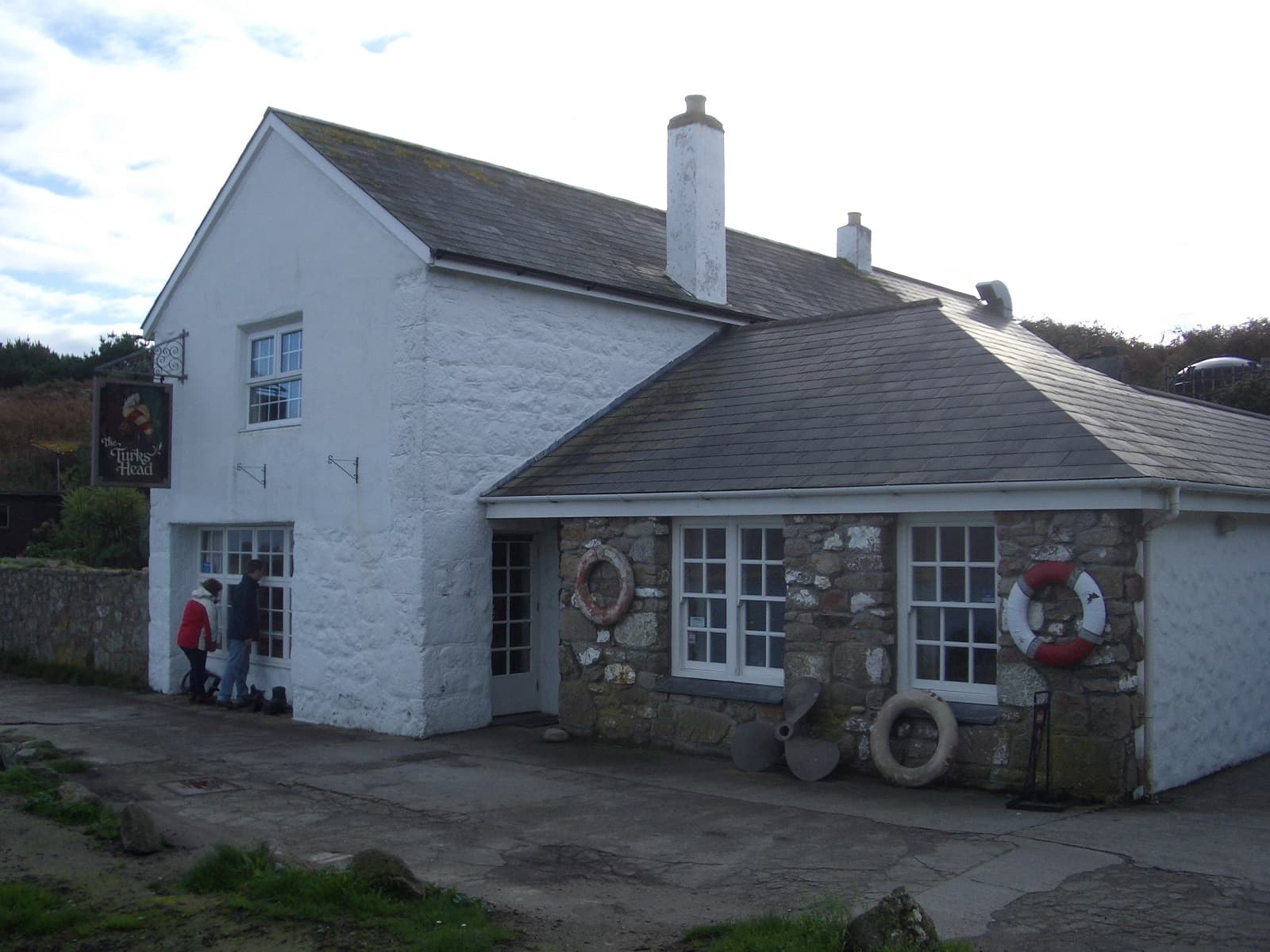 The Turks Head, Agnes - Isles of Scilly