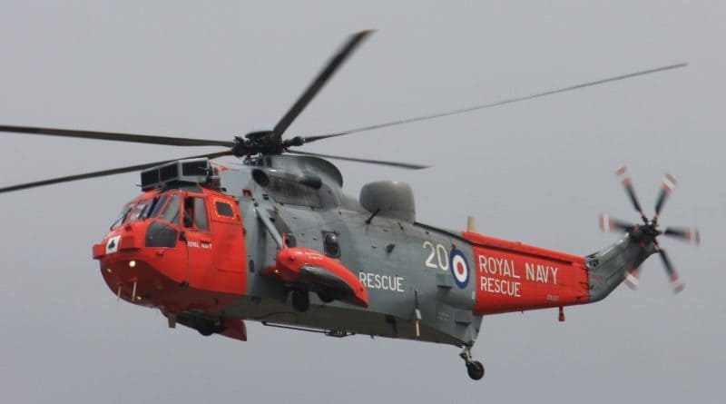 Sea King Helicopter Search and Rescue